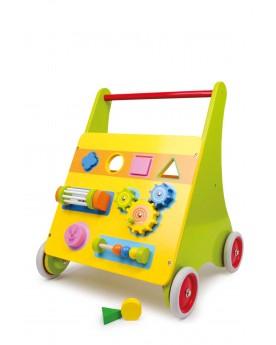 Cube actif sur roulettes «Mico» Chariots de marche  –Serpent à Lunettes