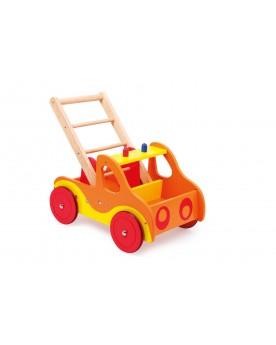 Chariot de marche sur roulettes «Pompiers» Chariots de marche  –Serpent à Lunettes