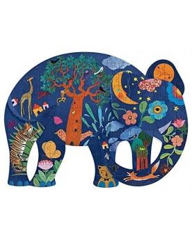 Puzz'art Elephant. 150 pièces Puzzles  –Serpent à Lunettes