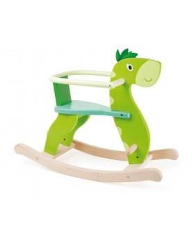 Dinosaure en bois à bascule Jouets à bascule  –Serpent à Lunettes