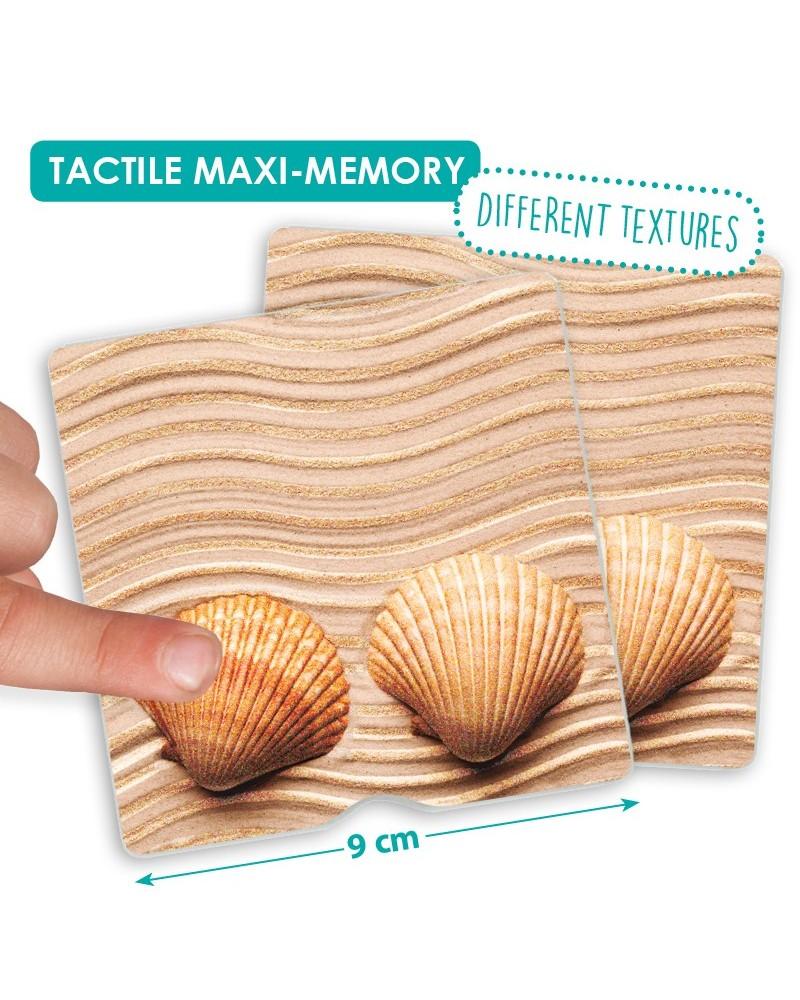 Maxi mémory tactile de la nature Pour 2 et plus  –Serpent à Lunettes