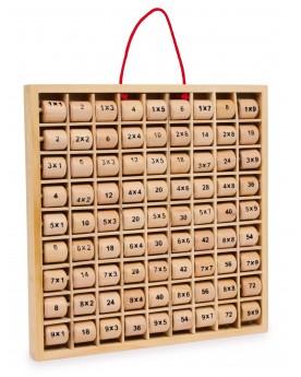 Table de multiplication « Rio » Lire, écrire, compter  –Serpent à Lunettes