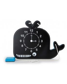 Horloge éducative et tableau «Baleine» Tableaux éducatifs  –Serpent à Lunettes