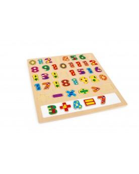 """Puzzle à poser \\""""Calculer\\"""" Puzzles  –Serpent à Lunettes"""