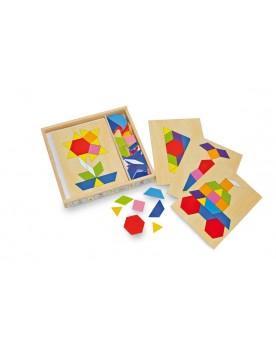 Boîte mosaïque Puzzles  –Serpent à Lunettes