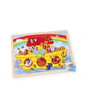 Puzzle cadre «Arche de Noé» Puzzles  –Serpent à Lunettes