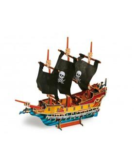 Puzzle 3D Bateau de pirate Puzzles  –Serpent à Lunettes
