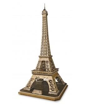 Puzzle 3D Tour Eiffel, grande Puzzles  –Serpent à Lunettes