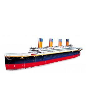 Puzzle 3D Titanic Puzzles  –Serpent à Lunettes