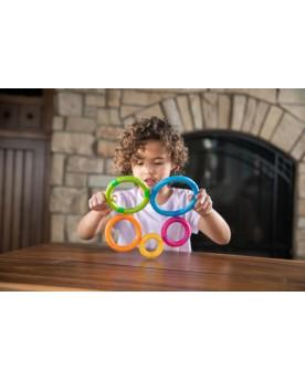Tinkerrings Jouets à assembler  –Serpent à Lunettes