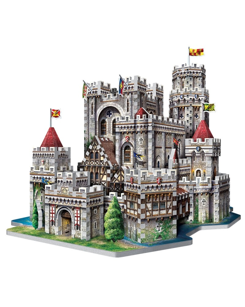 Puzzle 3D 865 pièces Château de Camelot Puzzles et casses-têtes  –Serpent à Lunettes