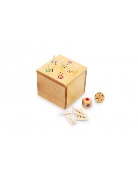 Cube «As» Pour 2 et plus  –Serpent à Lunettes