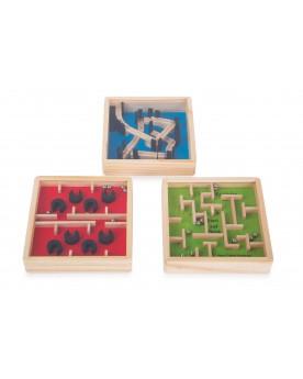 Petit labyrinthe en bois Jouets de motricité  –Serpent à Lunettes