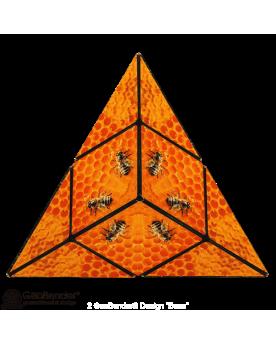 """Cube Geobender """"Bees"""" Solitaires et casse-têtes  –Serpent à Lunettes"""