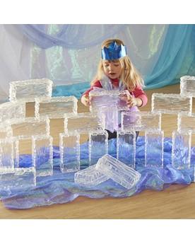 Briques de glace Blocs de construction  –Serpent à Lunettes