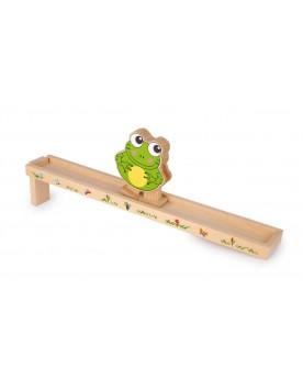 Grenouille avec rampe en bois Circuits et véhicules  –Serpent à Lunettes