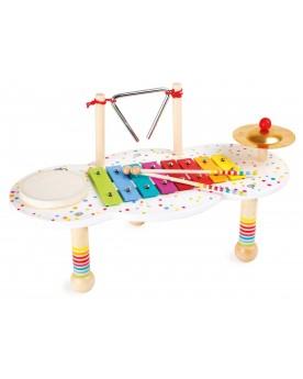 """Table à musique \\""""Sound\\"""" Instruments de musique  –Serpent à Lunettes"""
