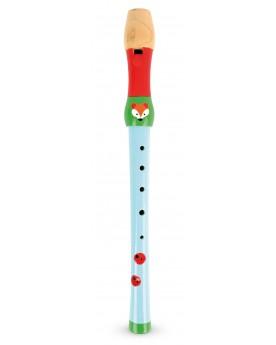 """Flûte à bec \\""""Petit renard\\""""  Instruments de musique  –Serpent à Lunettes"""