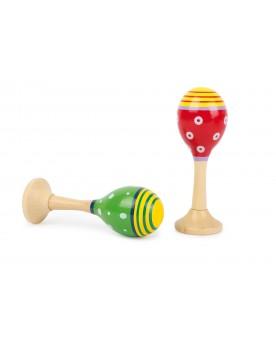 Maracas colorés Instruments de musique  –Serpent à Lunettes