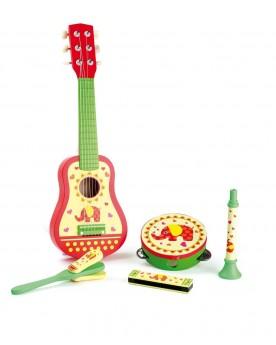 """Set musical \\""""Eléphant\\"""" Instruments de musique  –Serpent à Lunettes"""