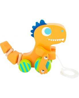 Dinosaure à tirer Jouets à tirer et pousser  –Serpent à Lunettes