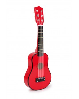 Guitare, rouge Instruments de musique  –Serpent à Lunettes