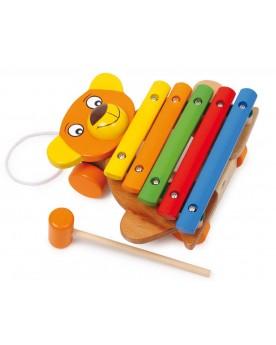 Xylophone «Ours» Instruments de musique  –Serpent à Lunettes