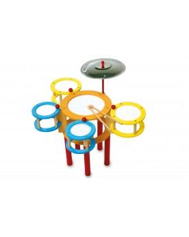 Batterie «Multicolore» Instruments de musique  –Serpent à Lunettes