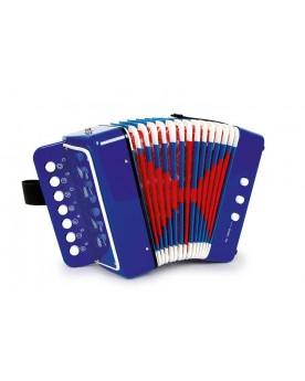 Accordéon, bleu Instruments de musique  –Serpent à Lunettes