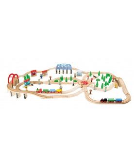 """Chemin de fer """"Kit Circulation"""" Circuits et véhicules  –Serpent à Lunettes"""