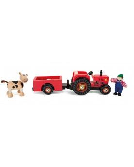 Tracteur avec remorque «Ferme» La ferme  –Serpent à Lunettes