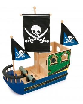 Bateau de pirate «Tête de mort» Pirates, indiens et autres  –Serpent à Lunettes