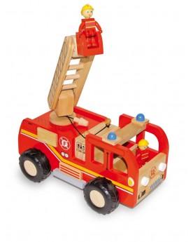 Camion de pompiers Au volant  –Serpent à Lunettes