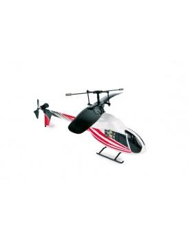 Hélicoptère «Infrarouge», rouge Circuits et véhicules  –Serpent à Lunettes