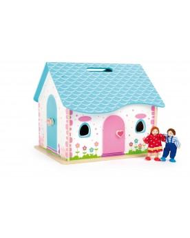 Maison de poupées à ouvrir Poupées  –Serpent à Lunettes