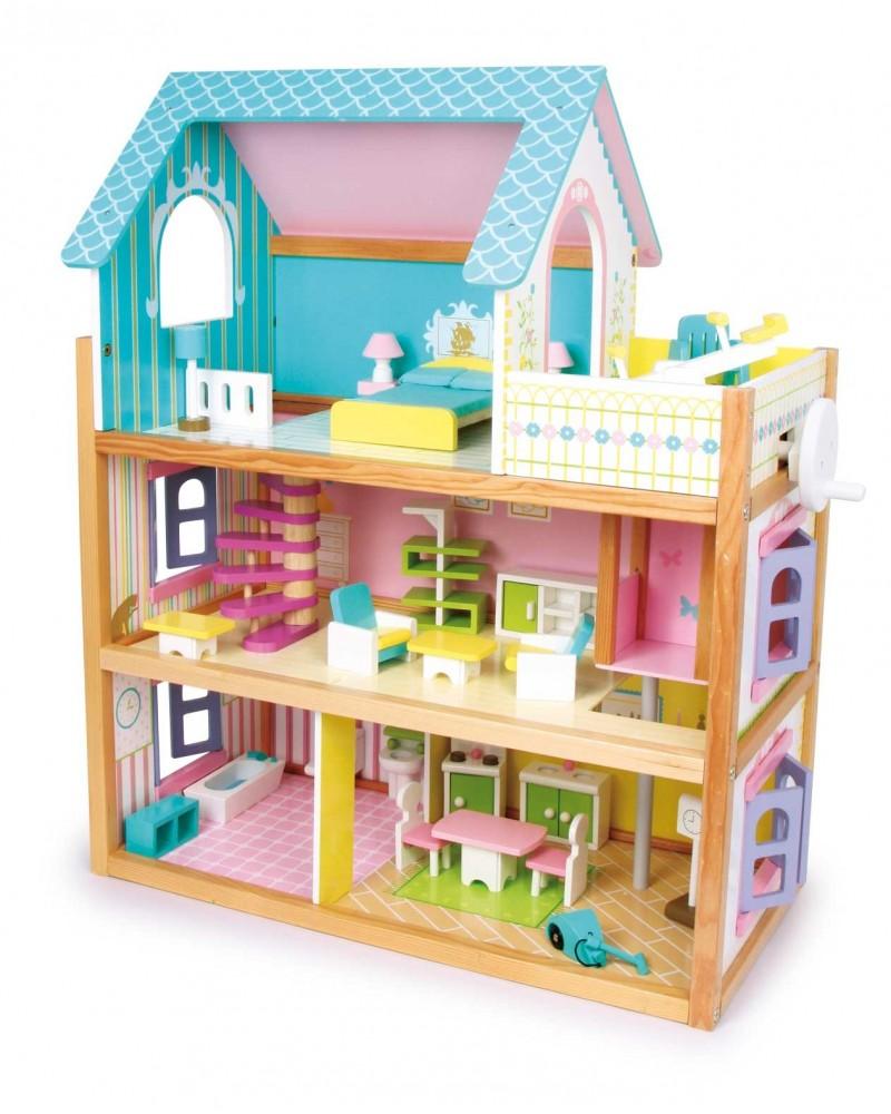 Maison de poupée «Résidence» Poupées  –Serpent à Lunettes