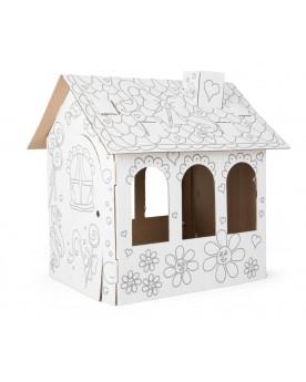 Maison de poupées en carton  Poupées  –Serpent à Lunettes
