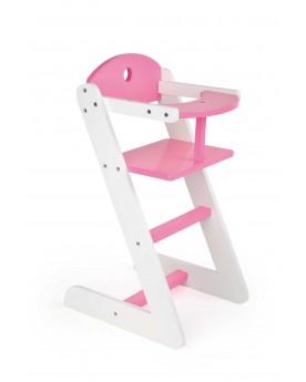 """Chaise haute de poupée \\""""Rêve de fille\\"""" Poupées  –Serpent à Lunettes"""