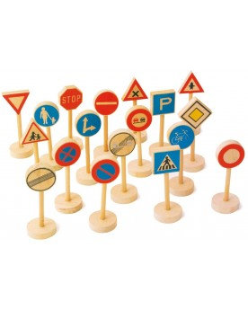Panneaux de signalisation Circuits et véhicules  –Serpent à Lunettes