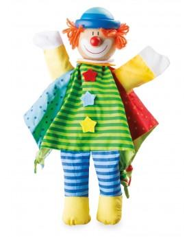 Marionnette «Clown» Pantins, marionnettes et théâtre  –Serpent à Lunettes