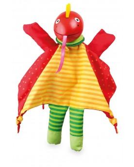 Marionnette «Dragon» Pantins, marionnettes et théâtre  –Serpent à Lunettes