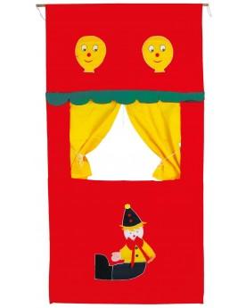 Théâtre de marionnettes Pantins, marionnettes et théâtre  –Serpent à Lunettes