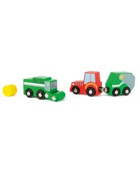 Kit de véhicules agricoles Circuits et véhicules  –Serpent à Lunettes
