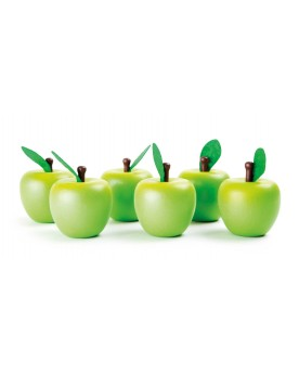 Pommes en bois Marchandes  –Serpent à Lunettes