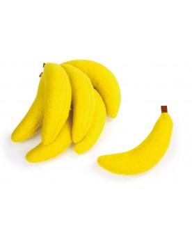 Bananes en feutre Marchandes  –Serpent à Lunettes