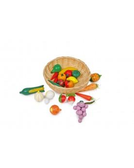 Panier Fruits & légumes Marchandes  –Serpent à Lunettes