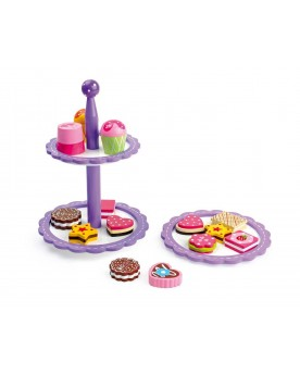 Présentoir à biscuits et chocolats Le goûter  –Serpent à Lunettes