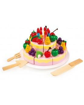 Gâteau d'anniversaire à découper Le goûter  –Serpent à Lunettes
