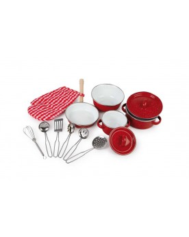 Batterie de cuisine «Rouge» La cuisine  –Serpent à Lunettes