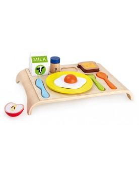Planchette en bois Petit-déjeuner Déjeuner et pique-nique  –Serpent à Lunettes
